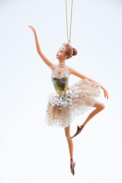 Good Will Tüll Ballerina Jewel Pearl Christbaumschmuck
