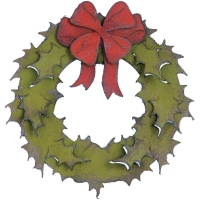 sizzix holiday wreath 658264