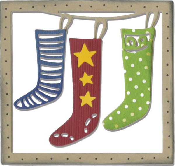 Sizzix Stanze Thinlits Christmas Stockings
