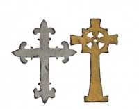 Sizzix Stanze BIGZ die Tim Holtz Ornate Crosses
