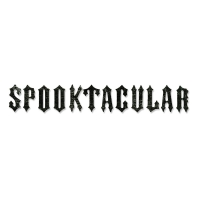 Sizzix Stanze Decorativ Strip Alphabet Spooktacular