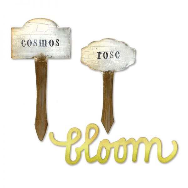 Sizzix BIGZ Phrase Bloom Plant Markers