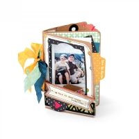 Sizzix Stanze Thinlits Mini Album