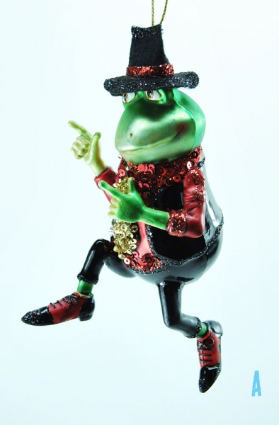 Good Will Dance Frog Frosch
