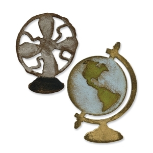Movers & Shapers die Vintage Fan Globe