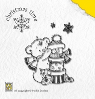 Clear Stamps Nellie Snellen Present Bear