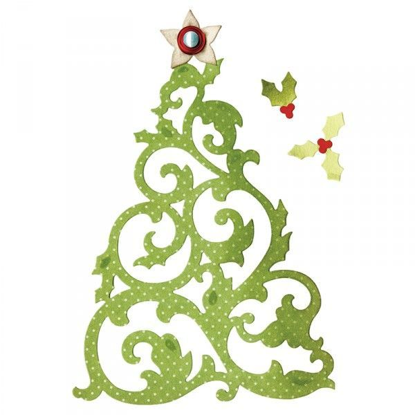 Sizzix Stanze Thinlits Christmas Tree