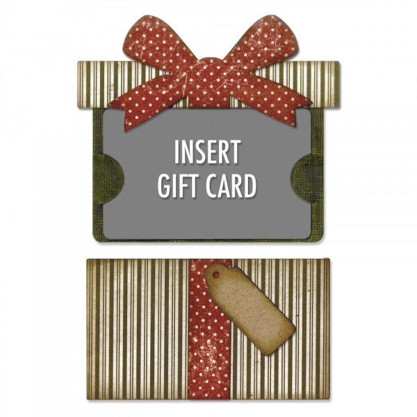 Sizzix-Stanze Thinlits Gift Card Pacjage by Tim Holtz