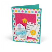 Framelits & Stamps Notebook Paper Tag & Ticket