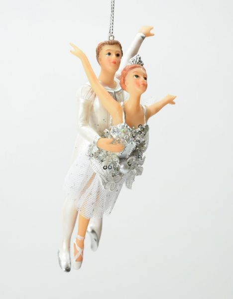 Good Will Dance Tull Ballet Couple Christbaumschmuck