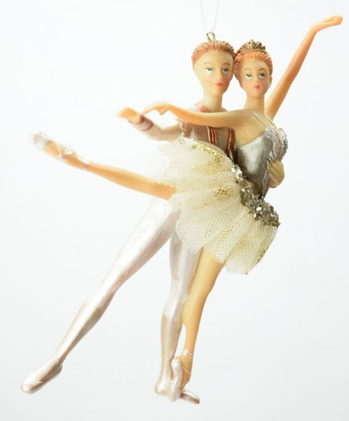 Goodwill Dance Tull Ballet Couple Tanzendes Paar Christbaumschmuck
