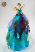 Gisela Graham Christbaumspitze Engel Peacock