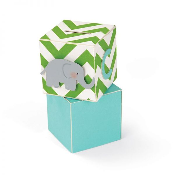 Sizzix BIGZ XL Block Cube Bank 3-D