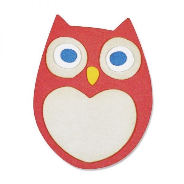 Sizzix Stanze Thinlits Little Owl
