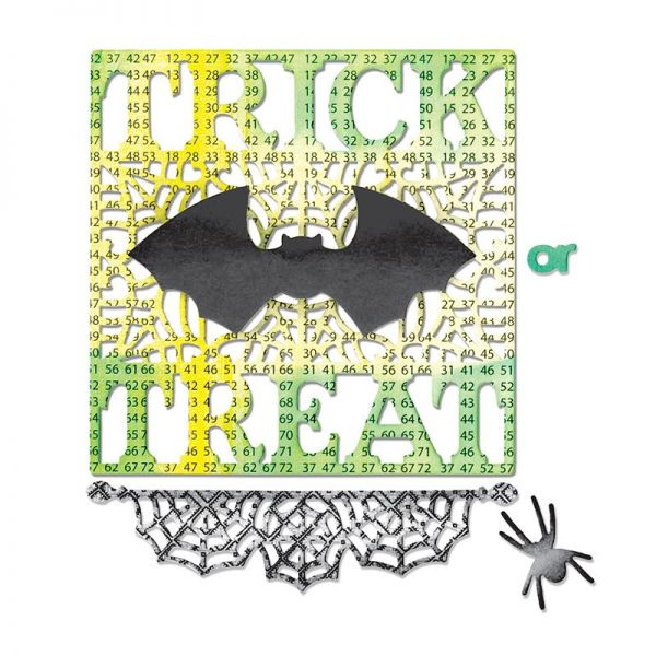 Sizzix Stanze Thinlits Trick or Treat