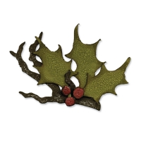 Sizzix Stanze BIGZ die Tim Holtz 'Holly Branch'