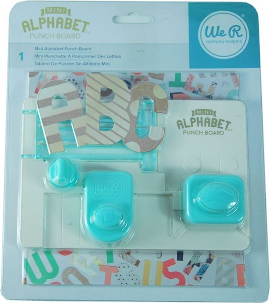 Memory Keepers mini Alphabet Punch Board