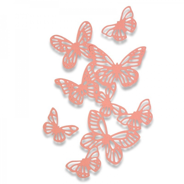 Sizzix Thinlits Butterflies by SophieGuilar