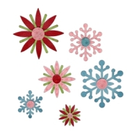 Sizzix Sizzlits Stanze Decorativ Strip Winter Elements