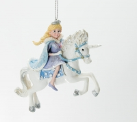 Princess on Pegasus Einhorn