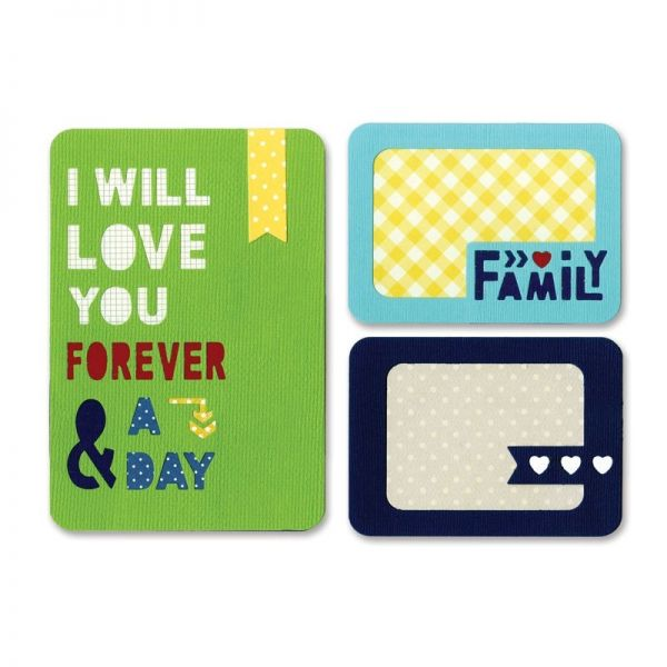 Sizzix Stanze Thinlits Forever & A Day