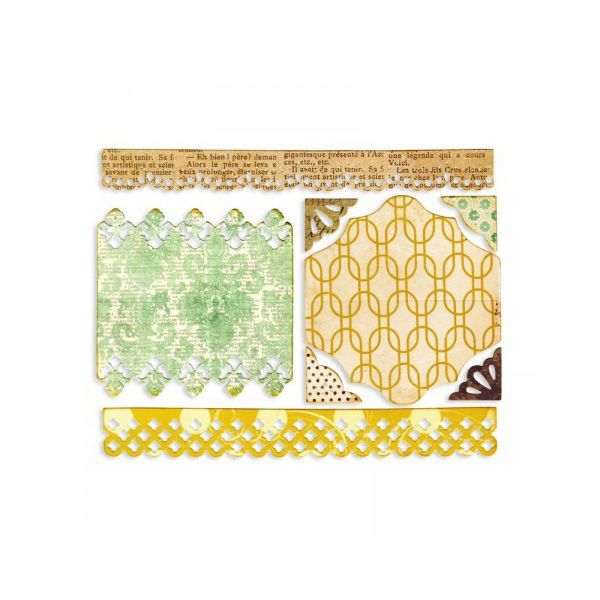 Sizzix Stanze Thinlits Toppers Borders & Corners
