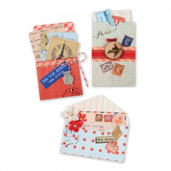 BIGZ XL Inserts & Envelopes Mini Correspondence