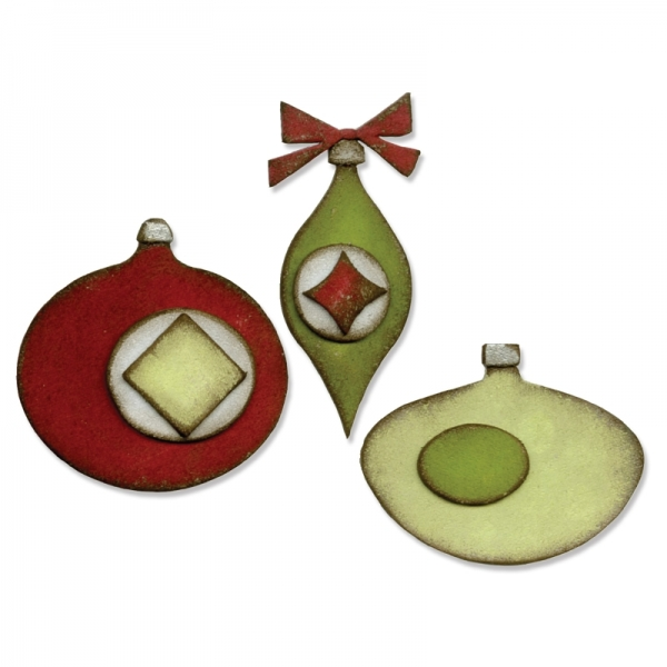 Sizzix Stanze BIGZ die Tim Holtz Retro Ornaments