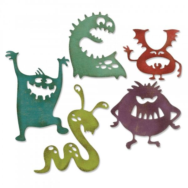 Thinlits Silly Monsters by Tim Holtz