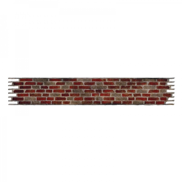Decorativ Strip Stanze dies Brick Wall