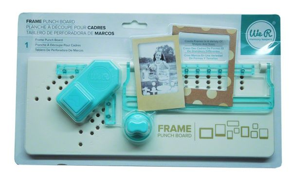 Memory Keepers Frame Punch Board
