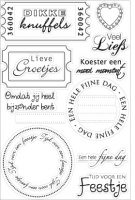 Clear Stamps Marianne Design Lieve Grotjes
