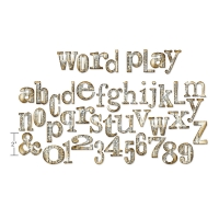 BIGZ XL Word Play Alphabet