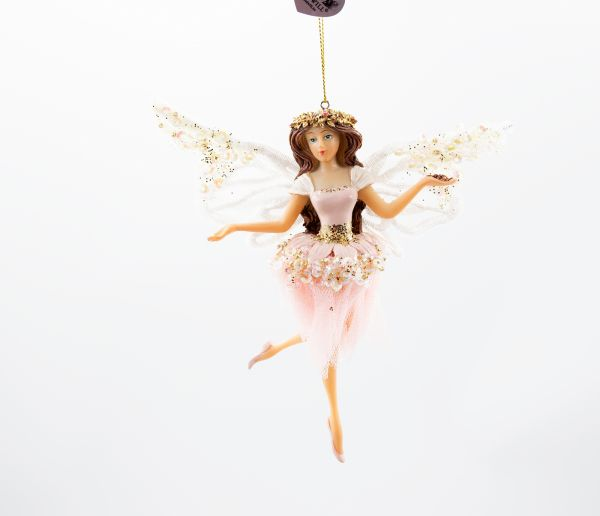 Good Will Tulle/Lace Wing Ballerina Christbaumschmuck