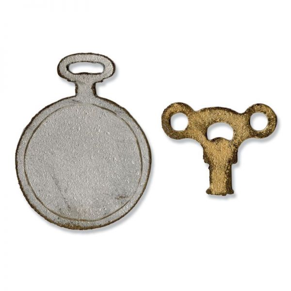 Movers & Shapers Mini Clock Key & Pocket Watch