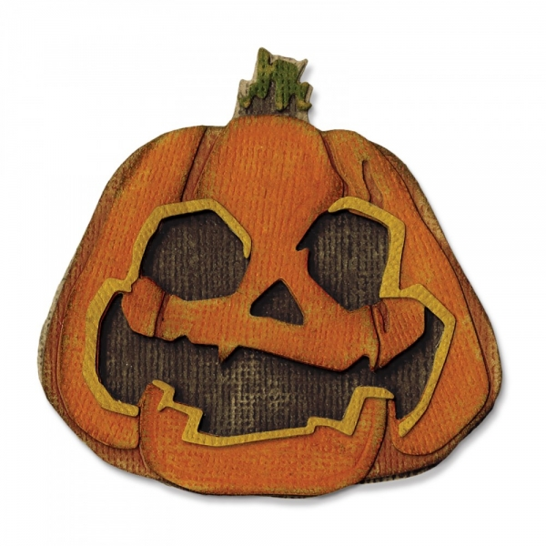 Thinlits Tim Holtz Layered Jack-O-Latern