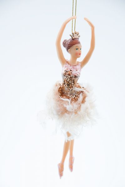 Good Will Ballerina Fluffy Skrit Christbaumschmuck