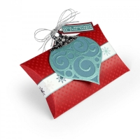 Sizzix Bigz L Box Pillow W/Ornaments Lindsey Serata