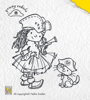 Clear Stamps Nellie Snellen Hands Up