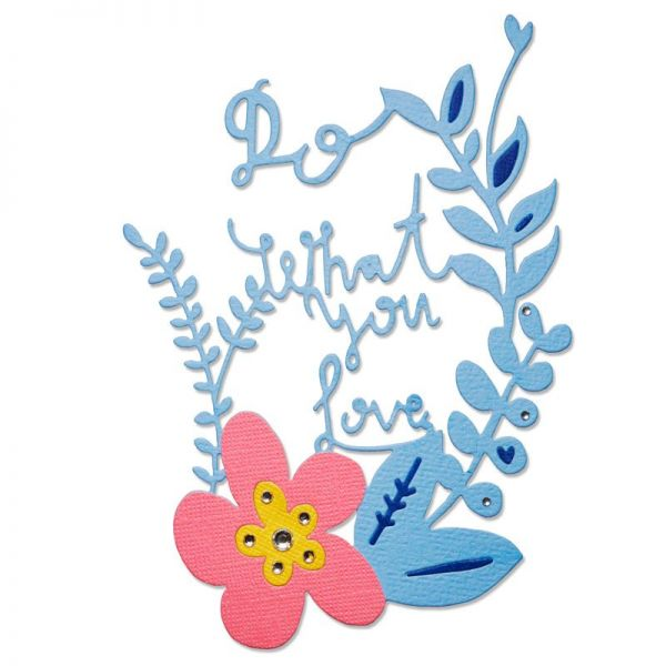 Sizzix Stanze Thinlits Do What You Love
