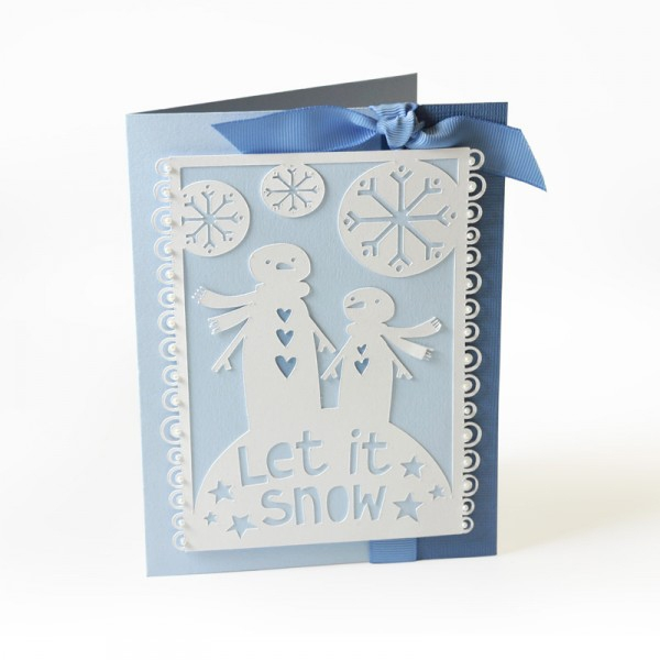Sizzix Stanze Thinlits Let it Snow