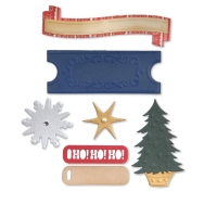 Sizzix Stanze Thinlits Labels & Snowflakes by Basicgrey